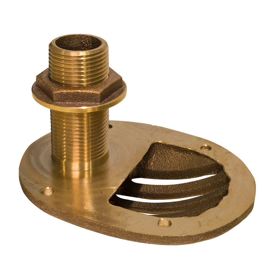 "GROCO 1-1-4"" Bronze Combo Scoop Thru-Hull w-Nut [STH-1250-W]"