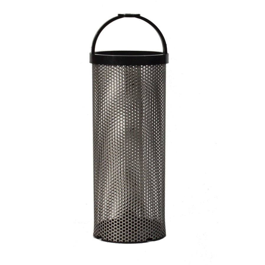 "GROCO BS-3 Stainless Steel Basket - 2.6"" x 7.3"" [BS-3]"