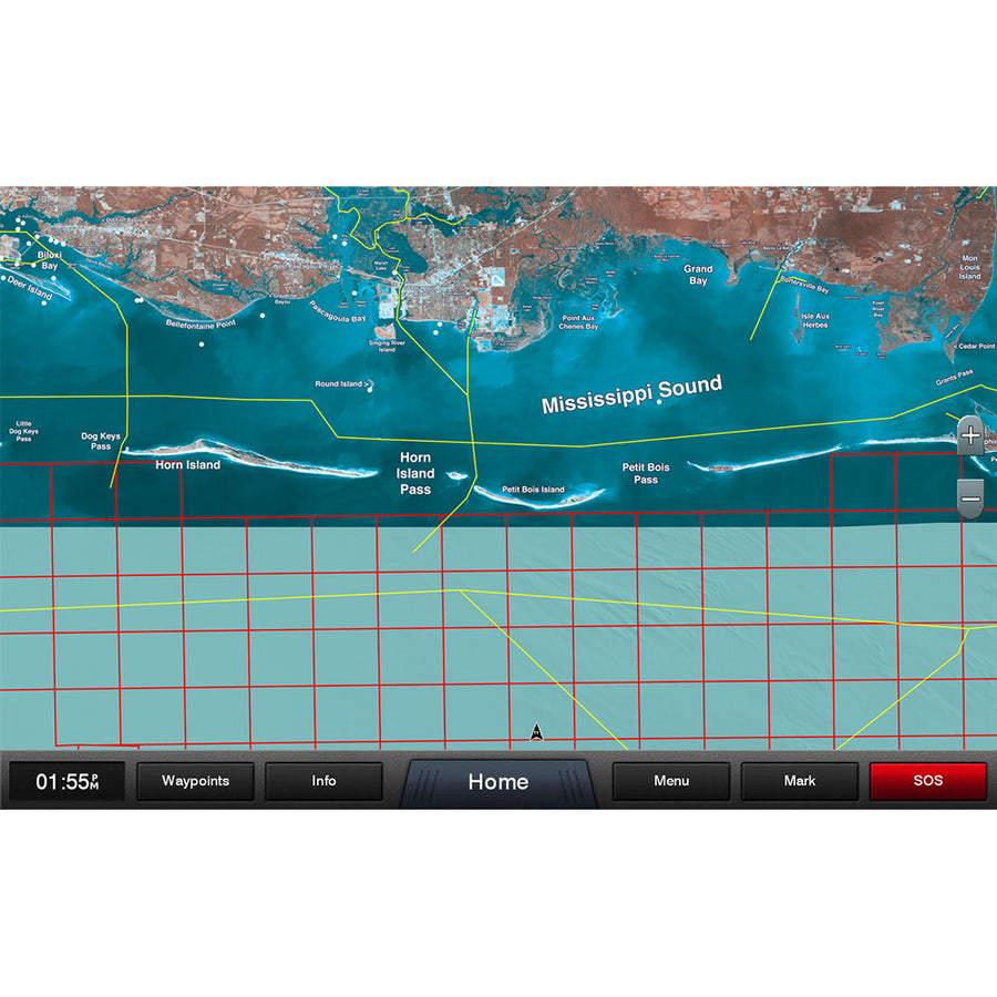 Garmin Standard Mapping - Mississippi Sound Professional microSD-SD Card [010-C1185-00]
