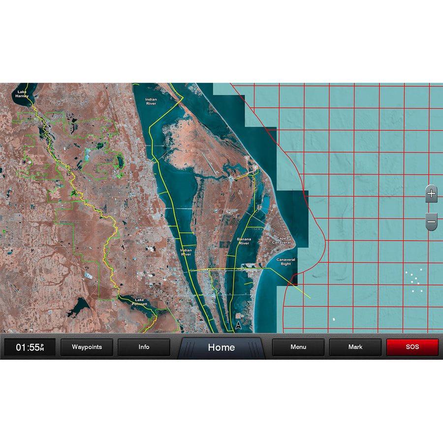 Garmin Standard Mapping - Florida East Pen Professional microSD-SD Card [010-C1200-00]