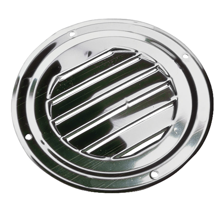 "Sea-Dog Stainless Steel Round Louvered Vent - 5"" [331425-1]"
