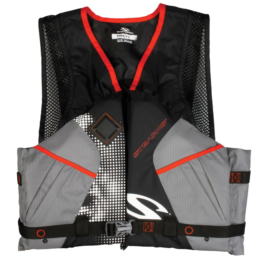 Stearns 2220 Comfort Series Adult Life Vest PFD - Black - Medium [2000032680]