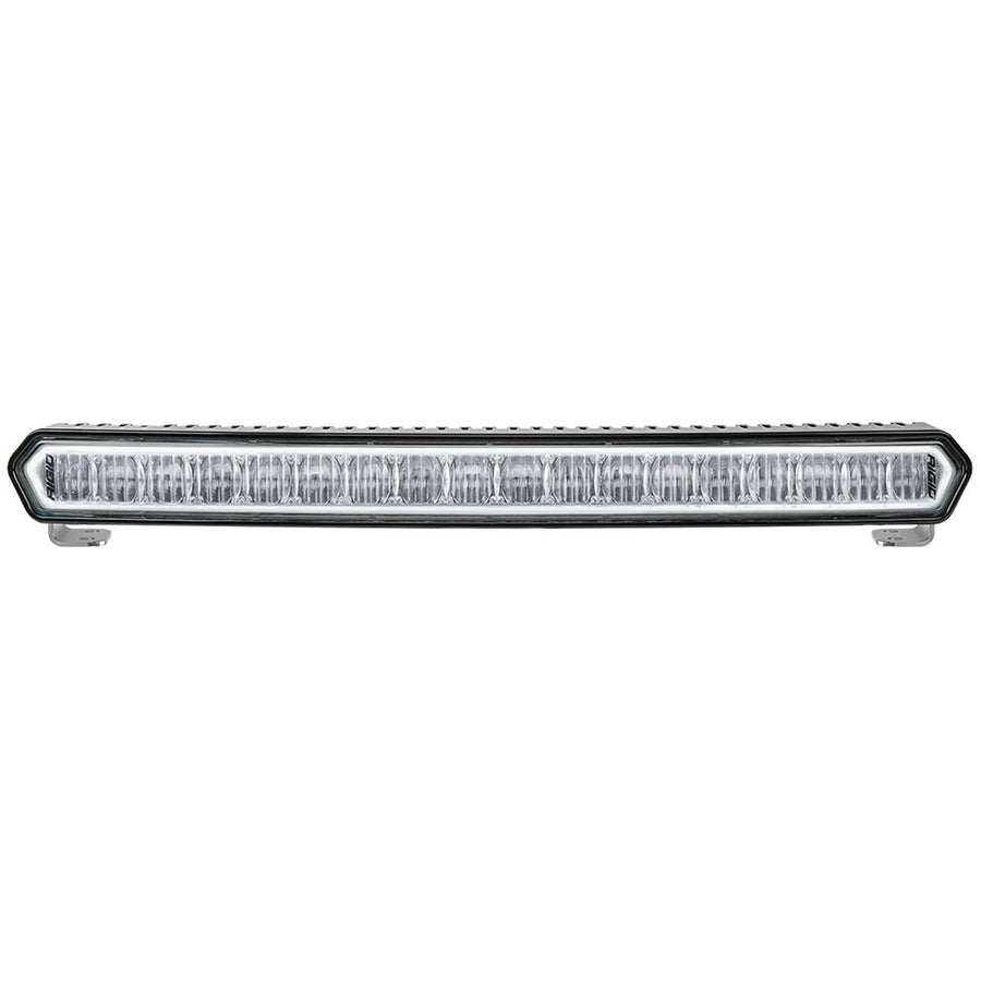 "RIGID Industries SR-L Series 20"" Off-Road LED Light Bar - Black w-White Halo [63000]"