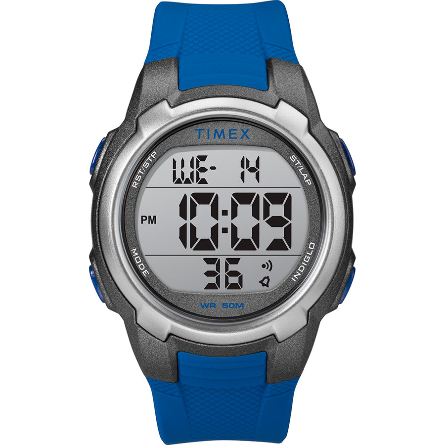 Timex T100 Blue/Gray - 150 Lap [TW5M33500SO]