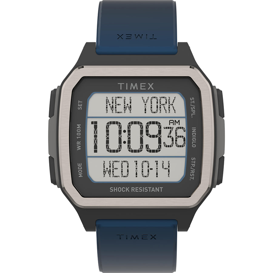 Timex Command Urban 47mm - Black Case w/Blue Strap [TW5M28800JV]