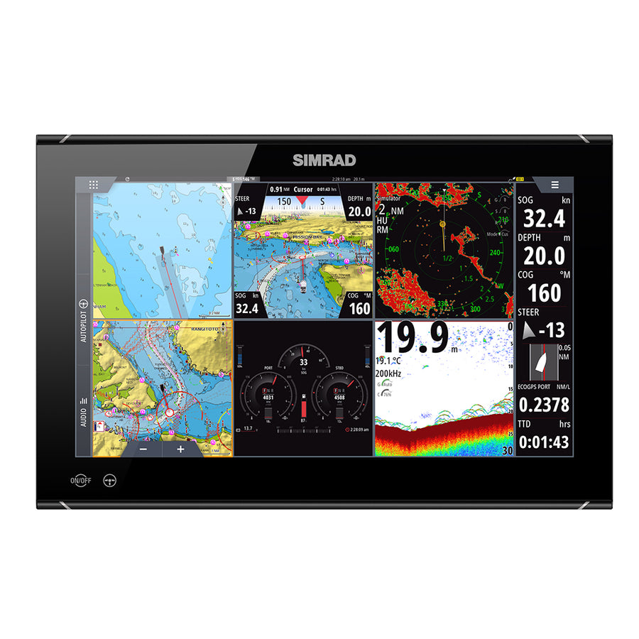 "Simrad NSO evo3S 16"" MFD System Pack [000-15126-001]"