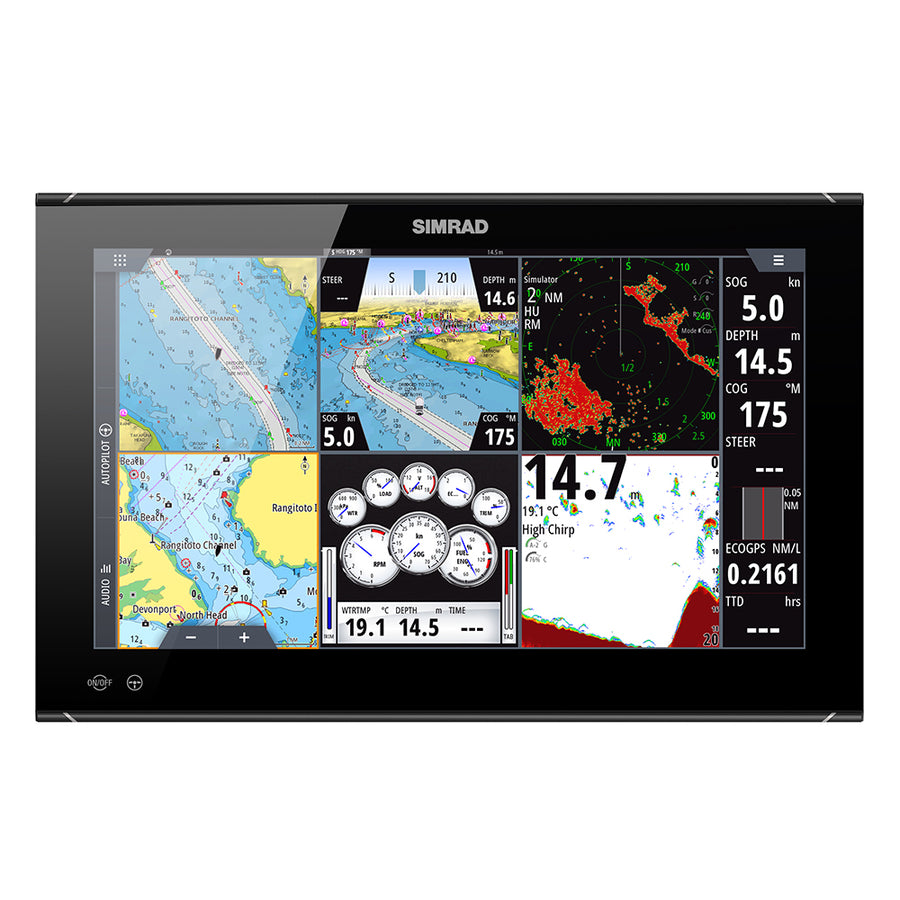 "Simrad NSO evo3S 19"" MFD System Pack [000-15127-001]"