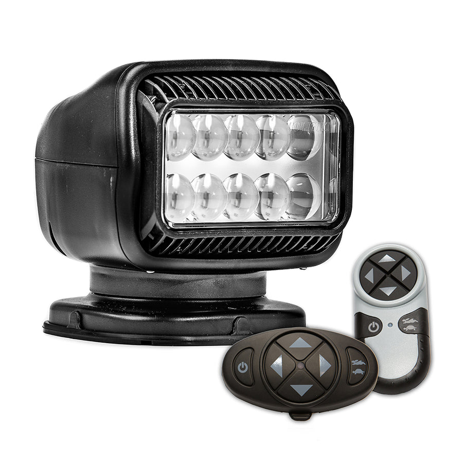 Golight Radioray GT Series Permanent Mount - Black LED - Wireless Handheld  Wireless Dash Mount Remotes [20574GT]