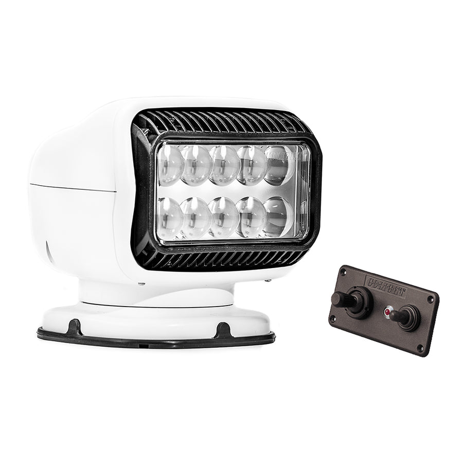 Golight Radioray GT Series Permanent Mount - White LED - Hard Wired Dash Mount Remote [20204GT]