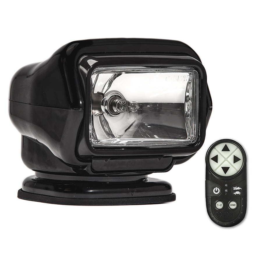 Golight Stryker ST Series Portable Magnetic Base Black Halogen w-Wireless Handheld Remote [30512ST]