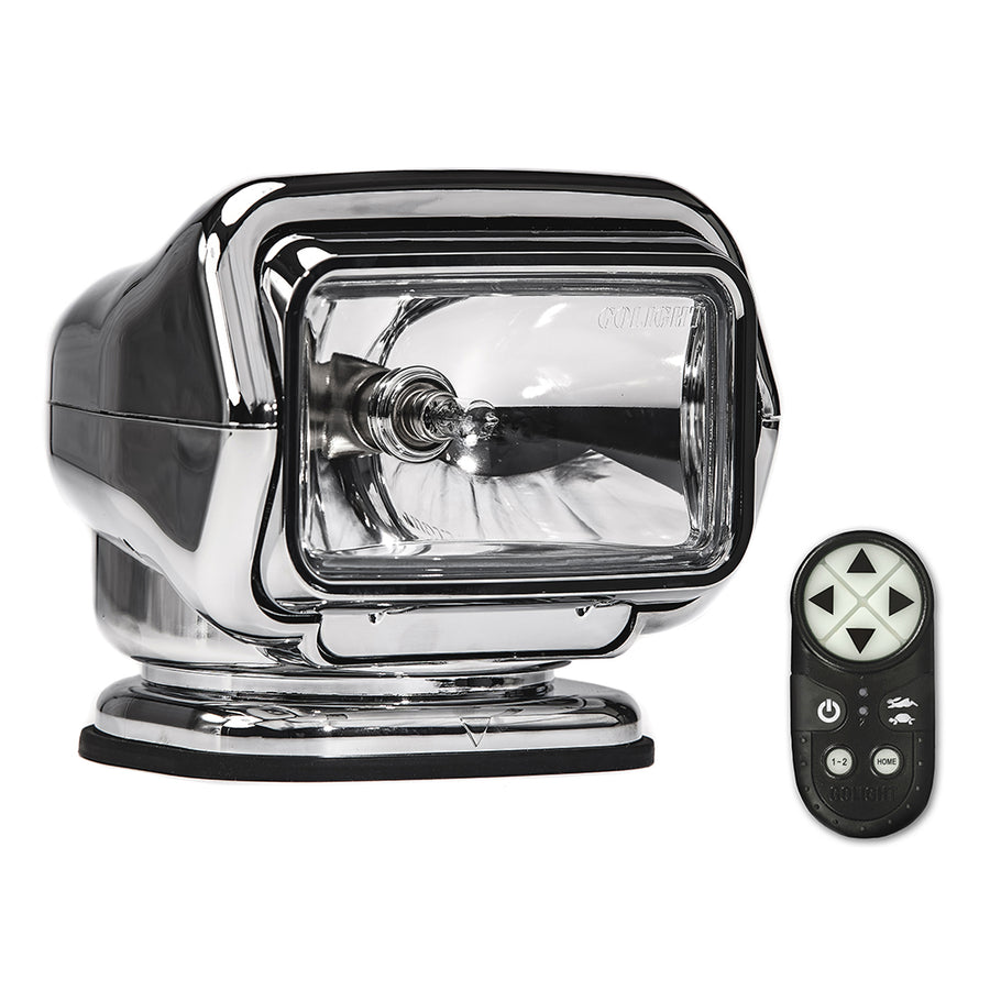 Golight Stryker ST Series Portable Magnetic Base Chrome Halogen w-Wireless Handheld Remote [30062ST]
