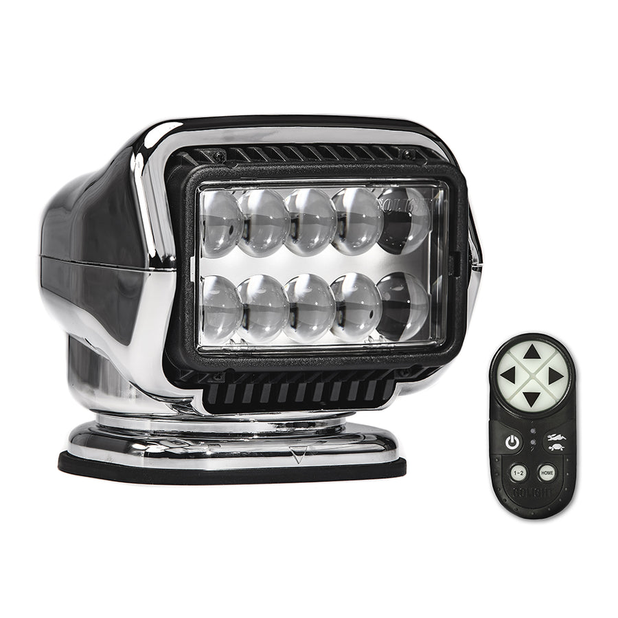 Golight Stryker ST Series Permanent Mount Chrome LED w-Wireless Handheld Remote [30064ST]