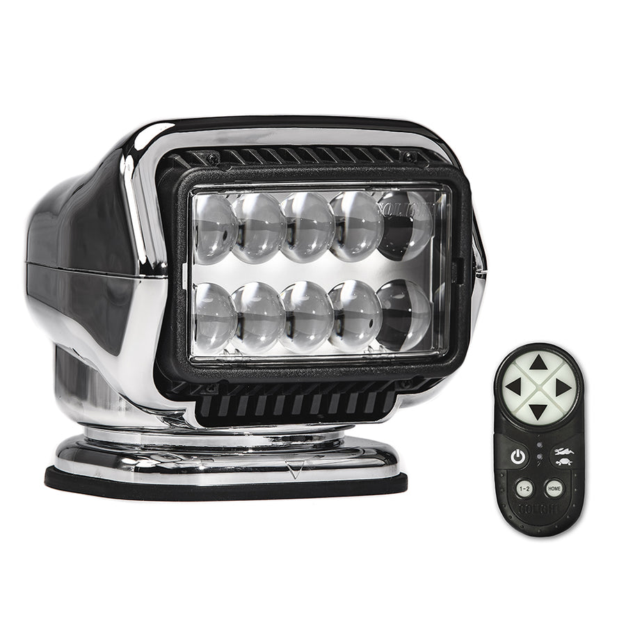 Golight Stryker ST Series Portable Magnetic Base Chrome LED w-Wireless Handheld Remote [30065ST]