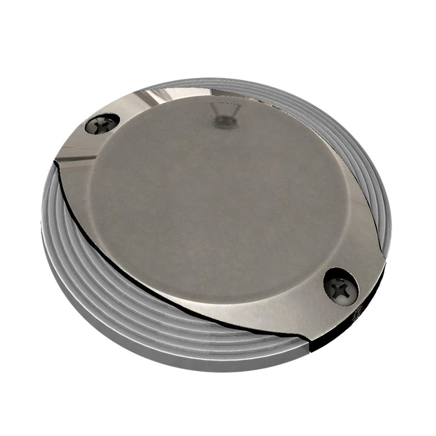 Lumitec Scallop Pathway Light - Spectrum RGBW - Stainless Steel Housing [101627]