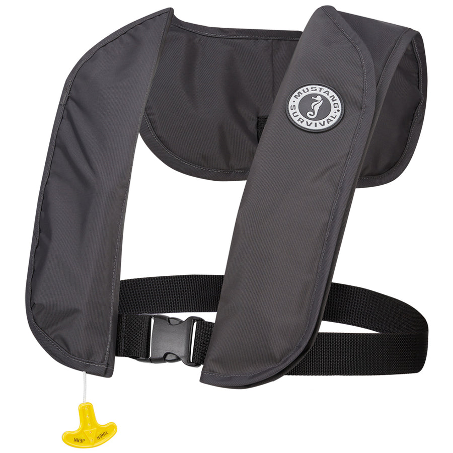 Mustang MIT 70 Inflatable PFD Manual - Admiral Grey [MD4031-191]