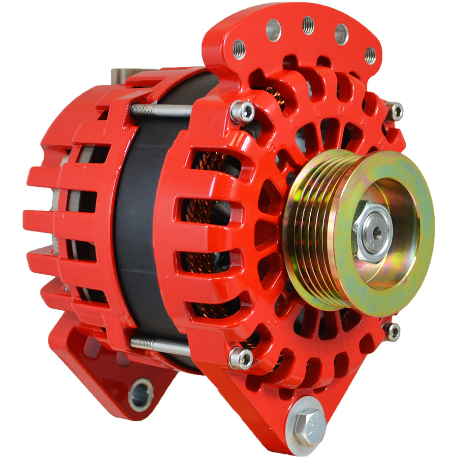 "Balmar Alternator 170AMP, 12V, 3.15"" Dual Foot K6 Pulley w/Isolated Grounding [XT-DF-170-K6-IG]"