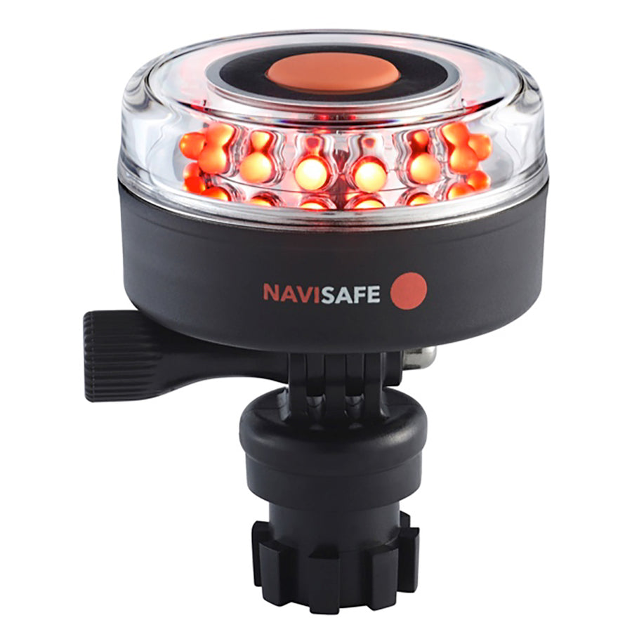 Navisafe Navilight All-Red 5 Mode 360 2NM w/Navimount Base [045-1]