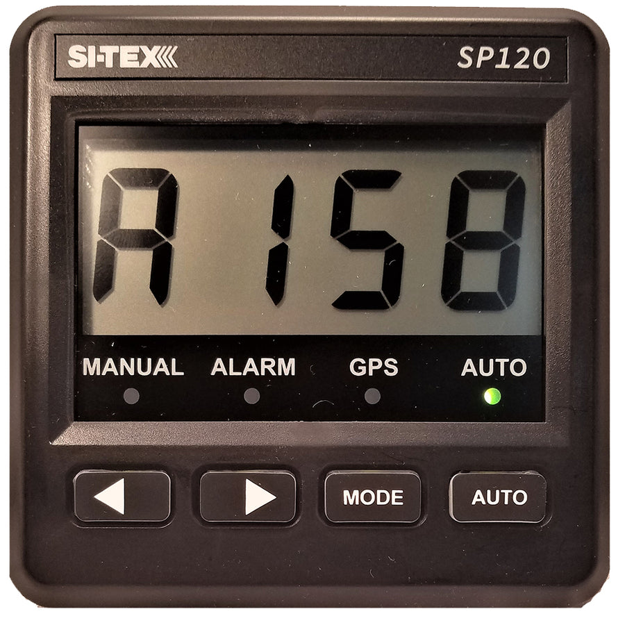 "SI-TEX SP-120 System w/Rudder Feedback  Type ""S"" Mechanical Dash Drive [SP120RF-3]"