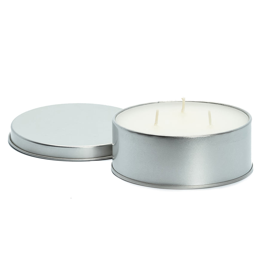 "Camco Citronella Candle w/Lid - 4"" x 1"" 16-Hour Burn Time - 3 Wicks [51023]"