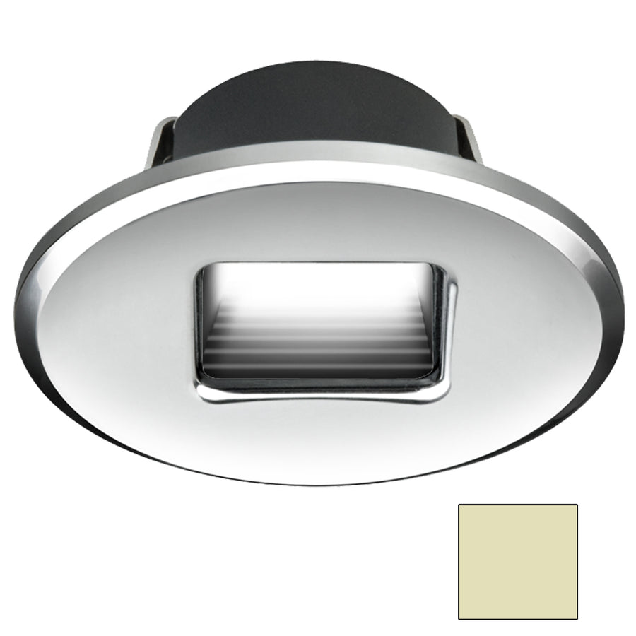 I2Systems Ember E1150Z Snap-In - Polished Chrome - Oval - Warm White Light [E1150Z-13CAB]