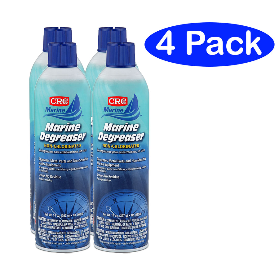 CRC Marine Degreaser - Non-Clorinated - 14oz - #06020 *4-Pack [06020/4PACK]