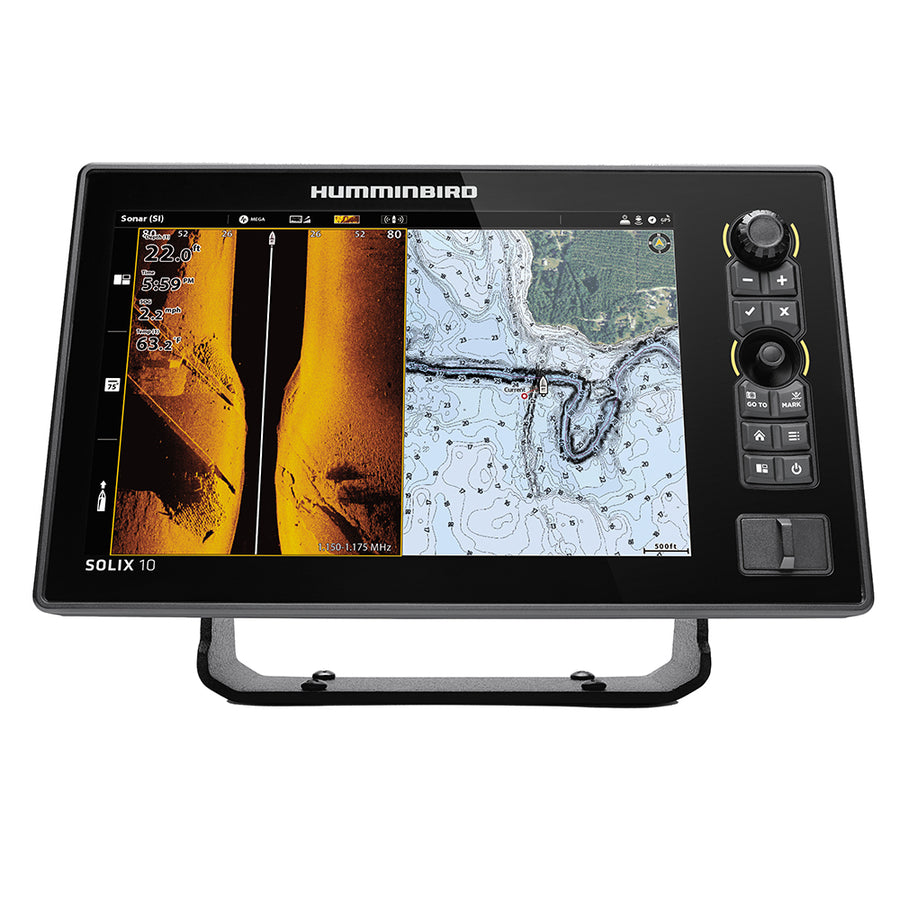 Humminbird SOLIX 10 CHIRP MEGA SI+ G3 CHO Display Only [411530-1CHO]