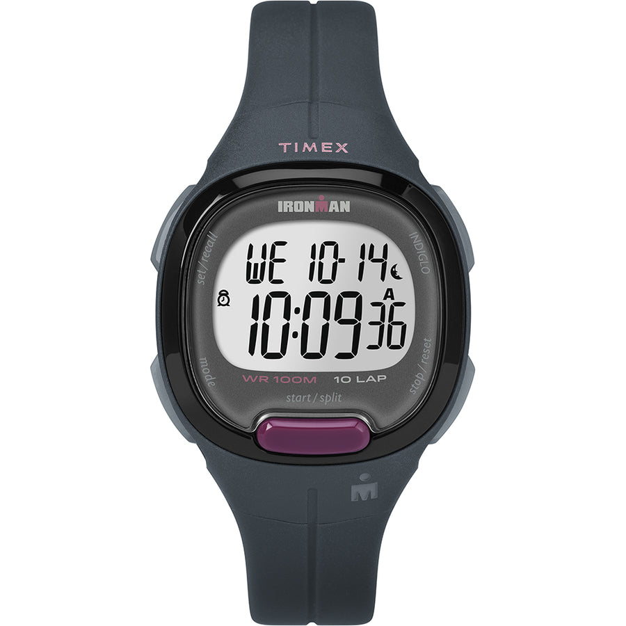 Timex IRONMAN Essentials 10-Lap Multisport - Grey/Purple [TW5M2000]