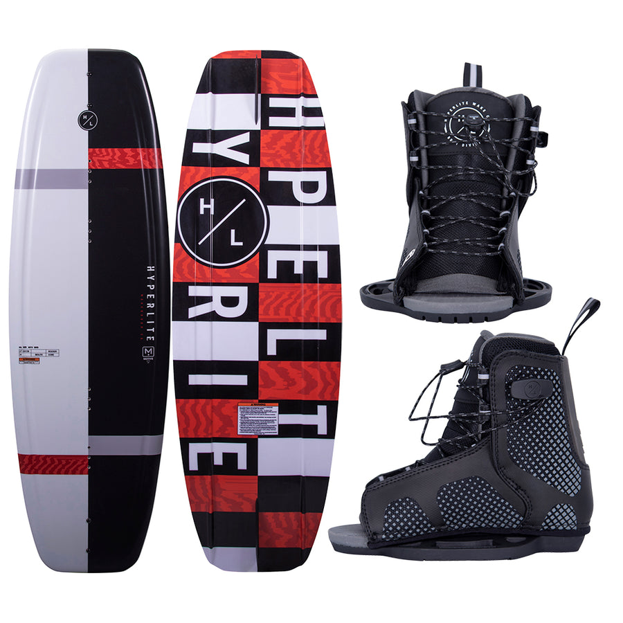 Hyperlite Motive Wakeboard 119cm w/Remix Boot - Junior - 2021 Edition [20282374]