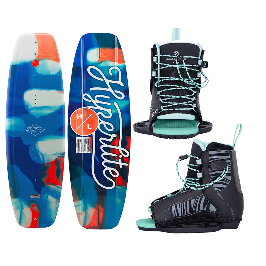 Hyperlite Divine Wakeboard 119cm w/Jinx Boot - Junior - 2021 Edition [20294332]