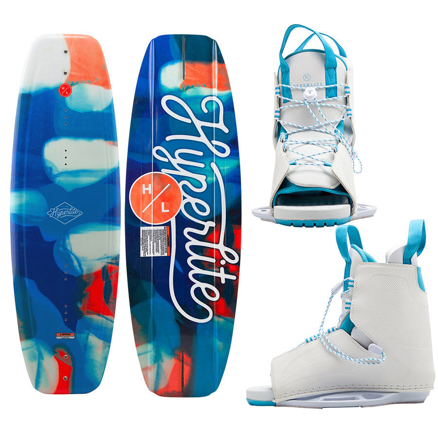 Hyperlite Divine Wakeboard 128cm w/Allure Boot - 2021 Edition [20295344]
