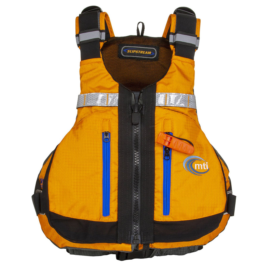 MTI Slipstream Life Vest - Mango/Dark Grey - Small/Medium [MV716E-S/M-205]