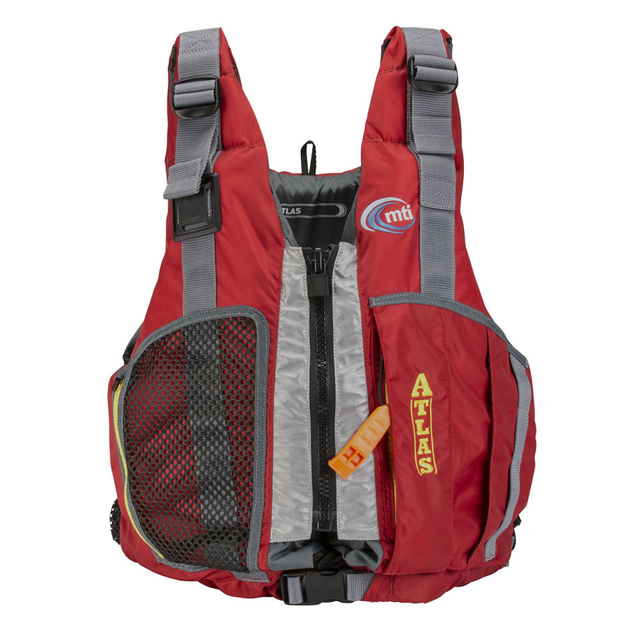 MTI Atlas Rafting Life Jacket - Red - X-Large/XX-Large [MV903C-XL/2XL-4]