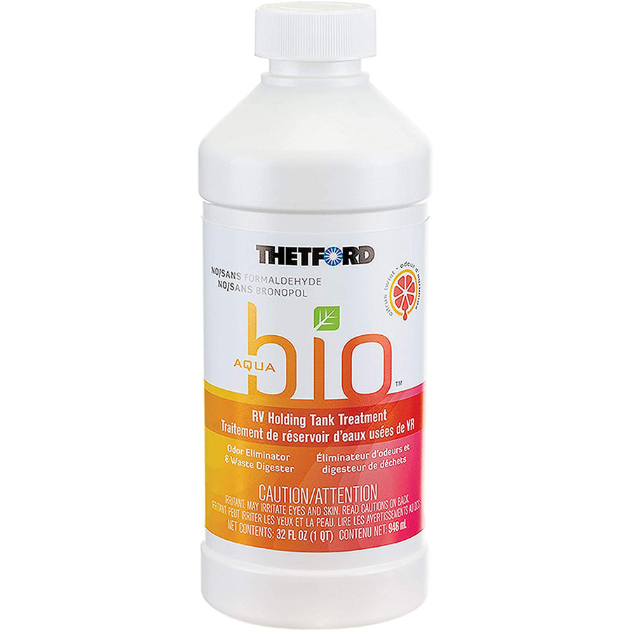Thetford AquaBio RV Holding Tank Treatment - Citrus Twist Scent - Formaldehyde Free - 32oz [96607]