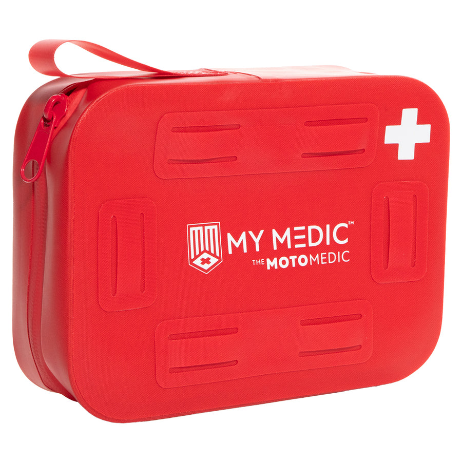 MyMedic Moto Medic Stormproof First Aid Kit - Red [MM-KIT-SPL-MOTO-STRM-PRF-RED]