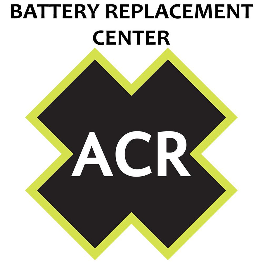 ACR FBRS 2880 & 2881 Battery Replacement Service - PLB-375 ResQLink-ResQLink+ [2880.91] - 10X Marine