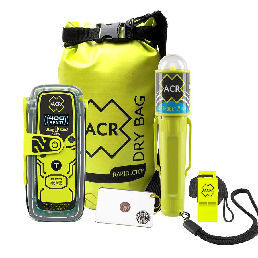 ACR ResQLink View 425 Survival Kit [2347] - 10X Marine