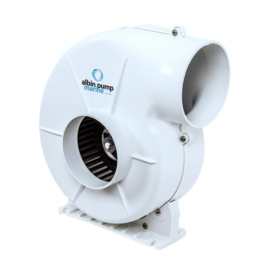 Albin Pump Marine Air Blower 500 Flex - 12V [10-03-007] - 10X Marine