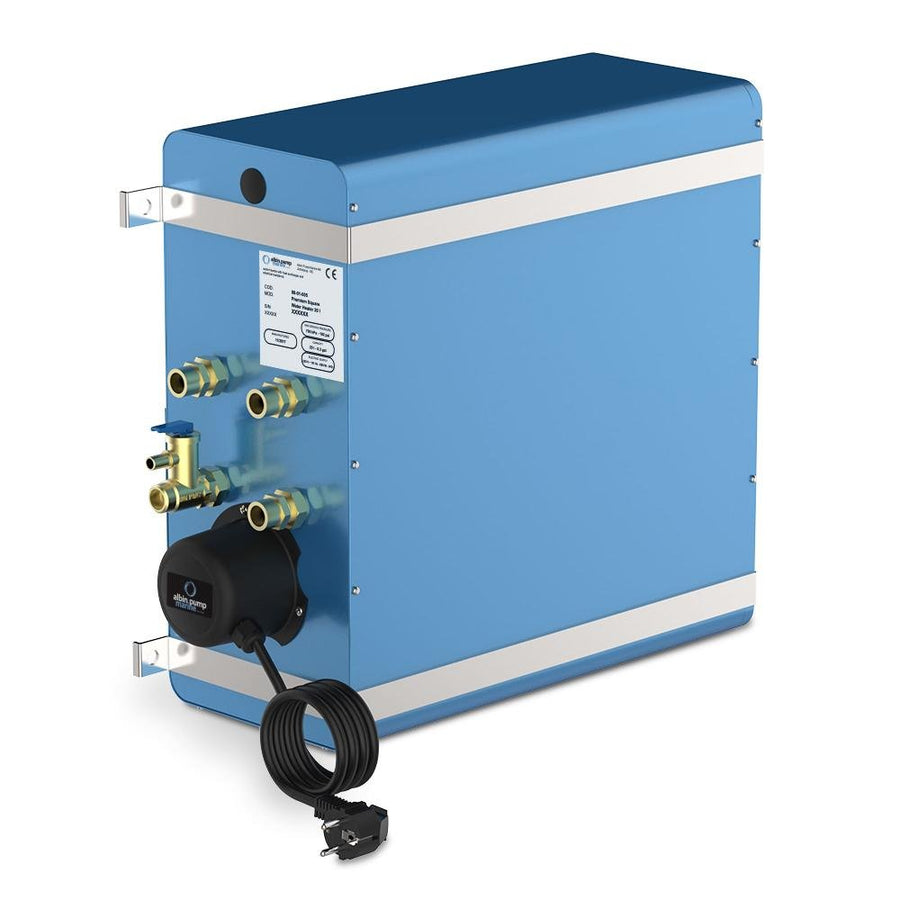 Albin Pump Marine Premium Square Water Heater 5.6 Gallon - 120V [08-01-028] - 10X Marine