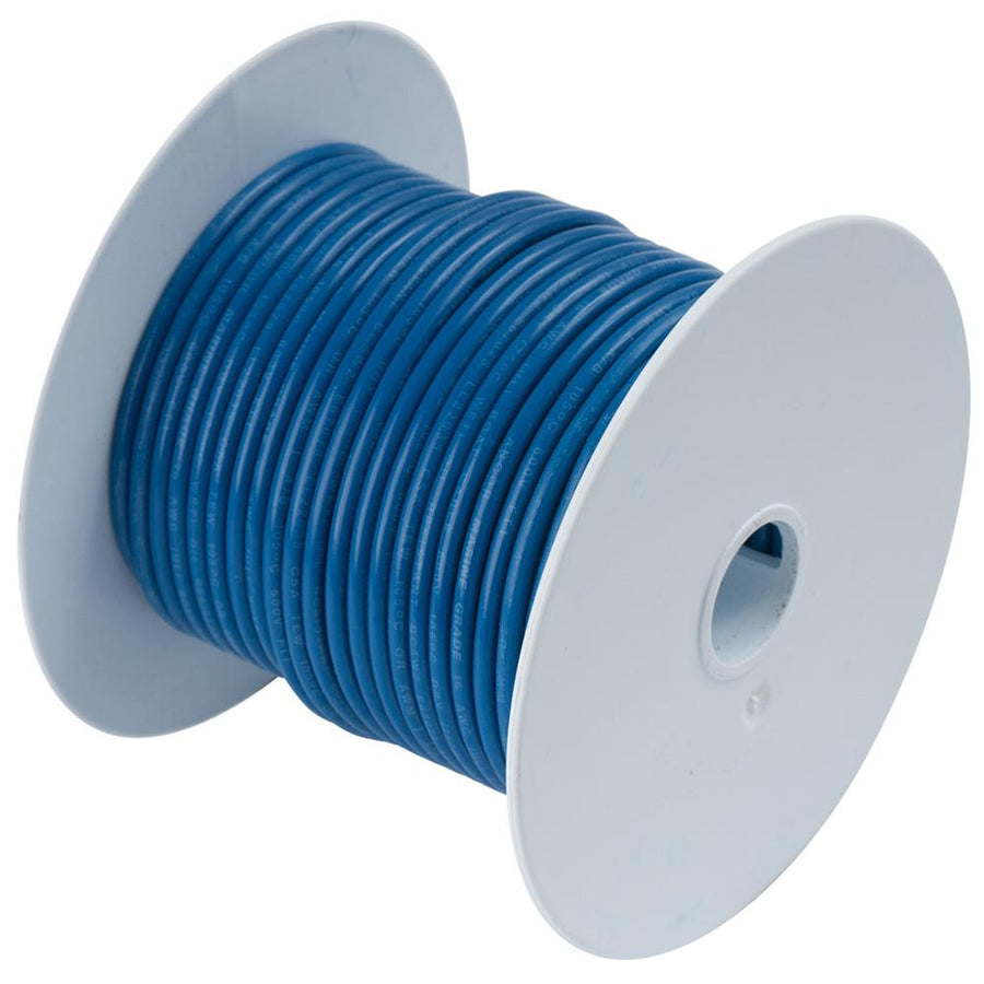 Ancor Dark Blue 10 AWG Tinned Copper Wire - 25' [108102] - 10X Marine