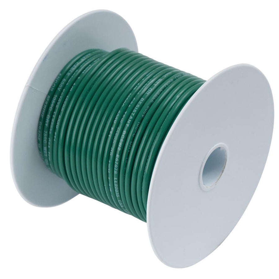 Ancor Green 10 AWG Primary Cable - 100' [108310] - 10X Marine
