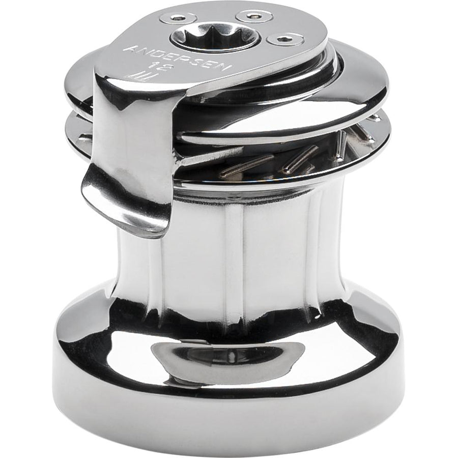 ANDERSEN 12 ST FS Self-Tailing Manual Single Speed Winch - Full Stainless [RA2012010000] - 10X Marine