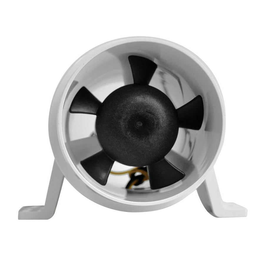 Attwood Turbo 3000 Series In-Line Blower - 12V - White [1731-4] - 10X Marine