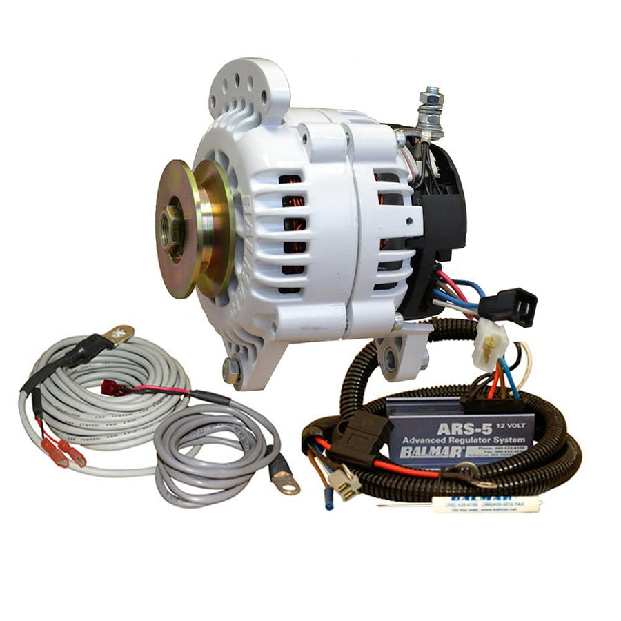 Balmar 60 Series Alternator - Saddle Mount(Dual Foot) Charging Kit - 100A - 12V [60-YP-100-SV] - 10X Marine