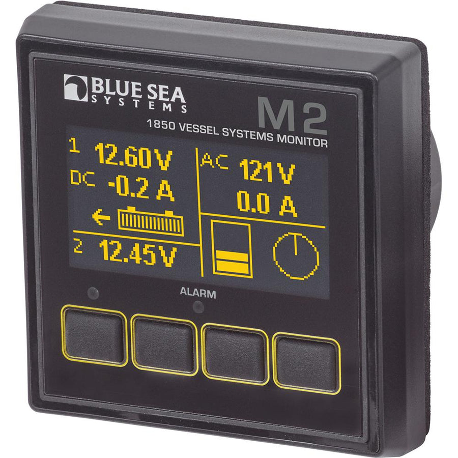 Blue Sea 1850 M2 Vessel Systems Monitor [1850] - 10X Marine