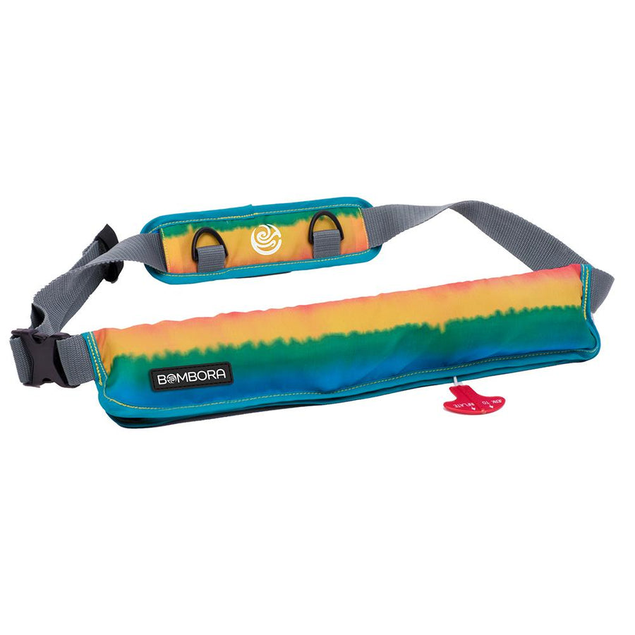 Bombora 16oz Inflatable Belt Pack - Rasta [RST1619] - 10X Marine