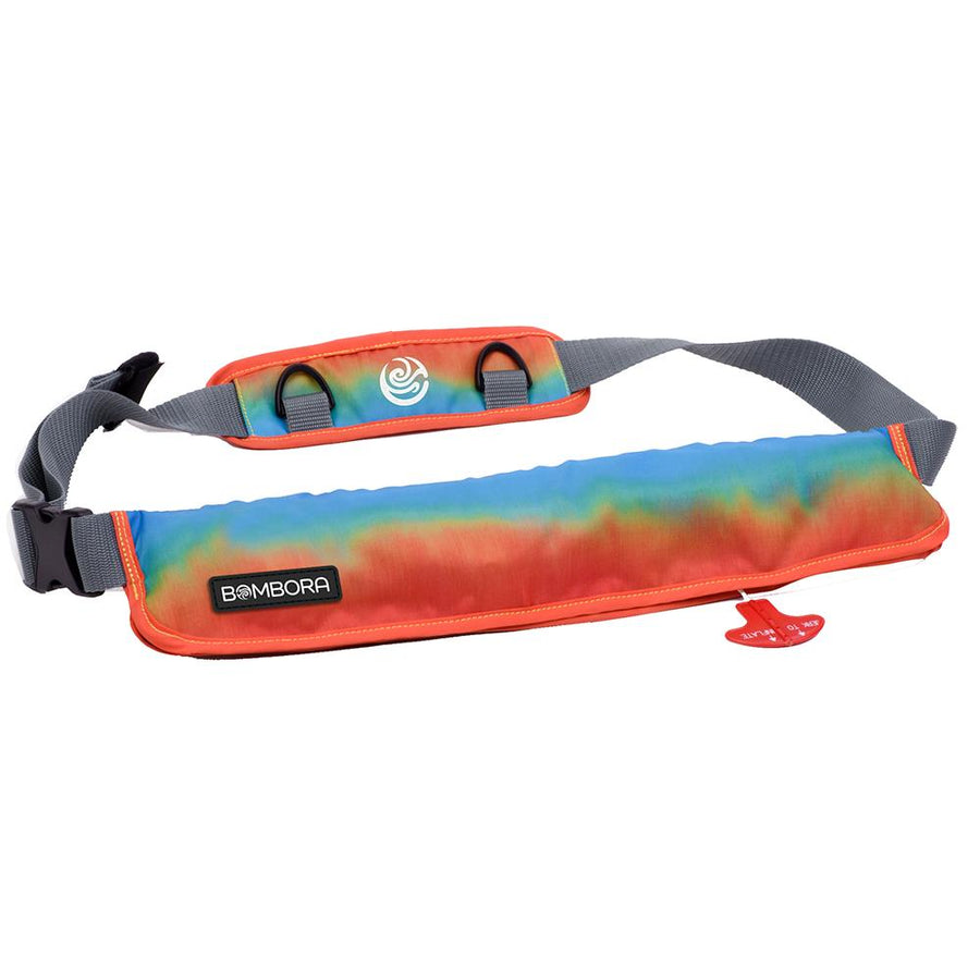 Bombora 16oz Inflatable Belt Pack - Sunrise [SNR1619] - 10X Marine