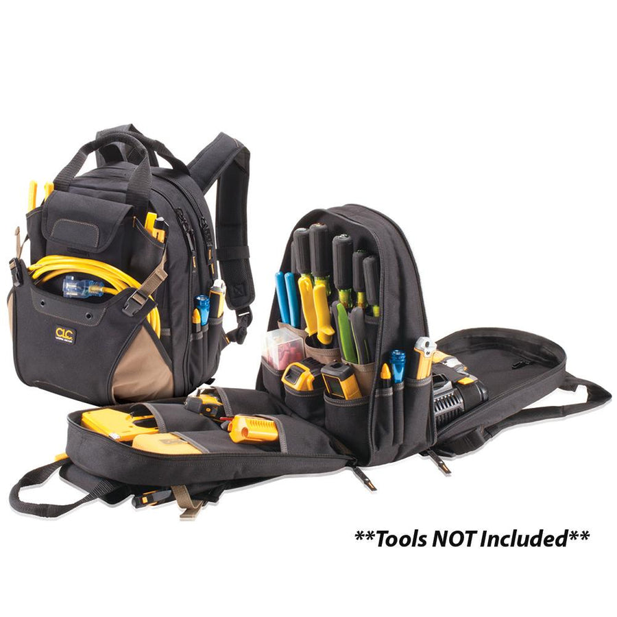 CLC 1134 44 Pocket Deluxe Tool Backpack [1134] - 10X Marine