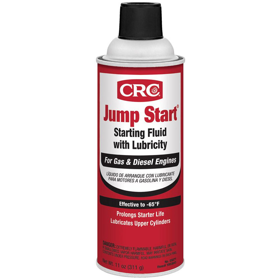 CRC Jump Start Starting Fluid w-Lubricity - 11oz - #05671 *Case of 12 [1003842] - 10X Marine