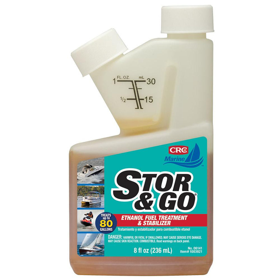 CRC Stor Go Ethanol Fuel Treatment Stabilizer - 8oz - #06141 *Case of 12 [1003920] - 10X Marine