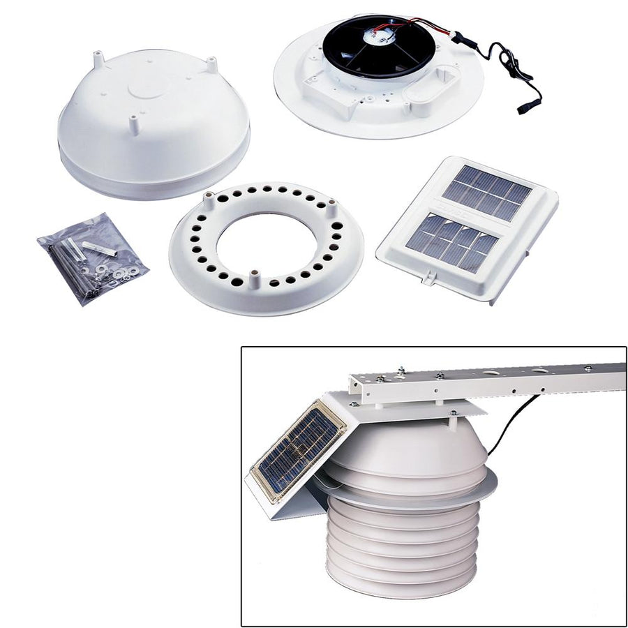 Davis Daytime Fan Aspirated Radiation Shield Kit [7747] - 10X Marine